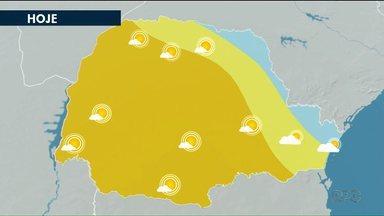Tempo segue firme nos Campos Gerais nesta terça-feira (20) - Temperatura fica amena em Ponta Grossa e a máxima pode chegar a 24ºC.