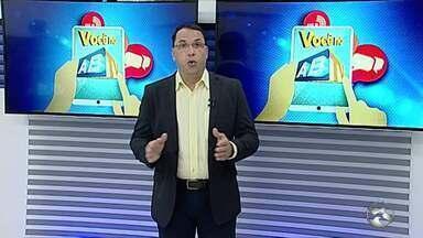 Você no ABTV mostra problemas em Caruaru - Moradores reclamam de esgotos no meio da rua.