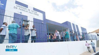 Posto de saúde é inaugurado na comunidade de Vila Verde, na Estrada Velha do Aeroporto - Unidade tem capacidade de atender até 650 pessoas por dia.