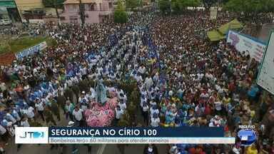 Órgãos de segurança se preparam para atender romeiros no 100º Círio de Conceição - Círio será no domingo (25) e deve reunir milhares de romeiros que caminham pelas ruas de Santarém.
