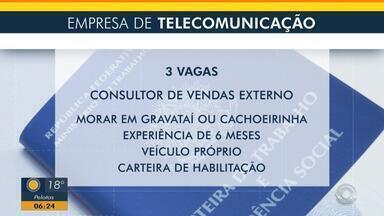 Empresa de telecomunicação oferece três vagas para consultor de vendas externo - Veja os benefícios e como participar da seleção.