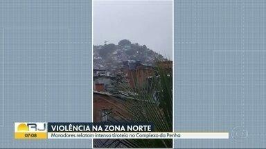 Penha tem operação nesta quarta-feira (21) - Moradores relatam tiros na Vila Cruzeiro.