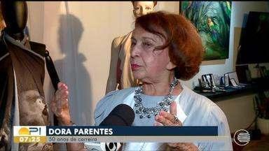 Artista plástica Dora Parentes completa 50 anos de carreira - Artista plástica Dora Parentes completa 50 anos de carreira