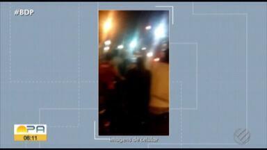 Moradores de Óbidos protestam contra tarifas da Celpa - Polícia precisou escoltar funcionários.