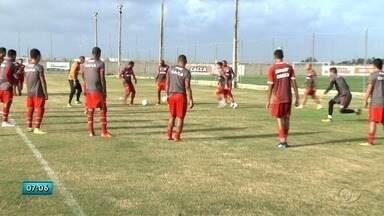 Jogando em casa, CRB se prepara para enfrentar o Figueirense - Partida será realizada sábado (24), no Rei Pelé.