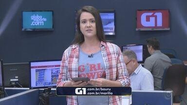 Confira os destaques do G1 Bauru e Marília desta quarta-feira - Mariana Bonora traz os principais destaques do G1 Bauru e Marília desta quarta-feira (21).