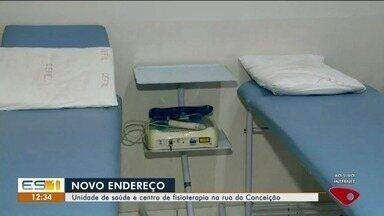 Unidade de Saúde e Centro de Fisioterapia de Linhares mudam de local - A transferência já ocorreu para novo endereço.