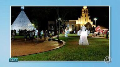 São Gabriel do Oeste já está toda enfeitada para o Natal - Foi lançado o projeto Natal Iluminado – Luzes do Cerrado.