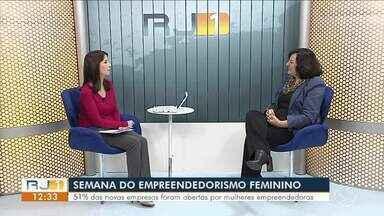 Especialista fala sobre crescimento do empreendedorismo entre mulheres - Semana do Empreendedorismo Feminino foi criada pela Organização das Nações Unidas com o objetivo de valorizar e incentivar as mulheres. Segundo o Sebrae, 51% das novas empresas foram abertas por elas.