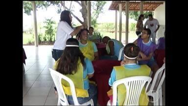 Assistidos da Apae participam de aulas no Campus da UFMG em Montes Claros - Projeto está transformando a vida dos alunos.