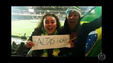 #AltasHoras - Internautas enviam seus vídeos