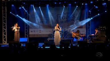 Festival de música nativista movimenta final de semana em Ijuí - 'Canto de Luz' contou com mais de 30 apresentações.