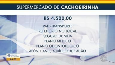 Supermercado de Cachoeirinha oferece vaga de emprego para gerente - Veja os benefícios e como participar da seleção.