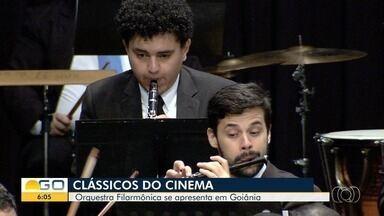Orquestra Filarmônica de Goiânia apresenta versões de clássicos do cinema - Apresentação foi no Palácio da Música, na capital.
