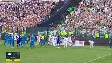 Palmeiras vence o Vasco e é campeão brasileiro de 2018 - Time de Felipão bateu o Vasco por 1x0 e se venceu o Campeonato Brasileiro deste ano.