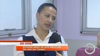 Estoque do banco de leite de São José está baixo - Entidade faz apelo por mais doadores.