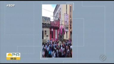 Devotos celebraram o círio de Nossa Senhora das Graças - Os fiéis percorreram as ruas do distrito até a igreja Matriz.