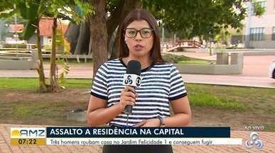Armados com terçado, homens invadem e roubam casa na Zona Norte de Macapá - Foi na madrugada deste domingo (25) no bairro Jardim Felicidade 1. Ninguém foi preso.