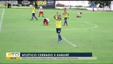Atlético Cerrado vence Kaburé e se classifica na 1ª divisão do Tocantinense - Atlético Cerrado vence Kaburé e se classifica na 1ª divisão do Tocantinense