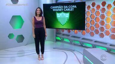 Globo Esporte RS - Bloco 3 - 26/11/2018 - Assista ao vídeo.
