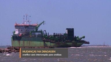 Porto de Rio Grande anuncia mudanças na dragagem - Entre as atividades interrompidas, está o overflow em alto mar.
