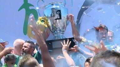 Avenida é campeão da Copa Wianey Carlet - Time de Santa Cruz do Sul venceu o Gaúcho de Passo Fundo, por 1 a 0, e ficou com a taça.