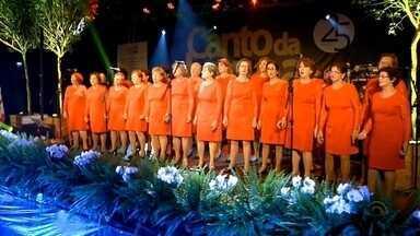 8 mil pessoas prestigiaram a 15ª edição do Canto da Lagoa - Evento aconteceu na cidade de Encantado, no último final de semana.