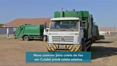 Novo contrato para coleta de lixo em Cuiabá prevê coleta seletiva - Novo contrato para coleta de lixo em Cuiabá prevê coleta seletiva.