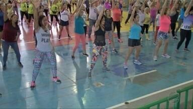 """Primeira edição do projeto """"Vida em movimento"""" é realizada no ginásio Verdinho - Primeira edição do projeto """"Vida em movimento"""" é realizada no ginásio Verdinho."""