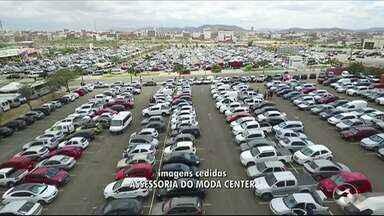 Feira de Santa Cruz do Capibaribe movimenta comércio desse fim de ano - Muitos consumidores já estão fazendo as compras de fim de ano.