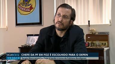 Sergio Moro anuncia Fabiano Bordignon. de Foz do Iguaçu, para chefiar Depen - Ele é delegado da Polícia Federal.