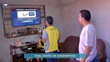 Dourados realiza 3ª edição de feirão digital - O sinal analógico de televisão será desligado no dia 5 de dezembro.