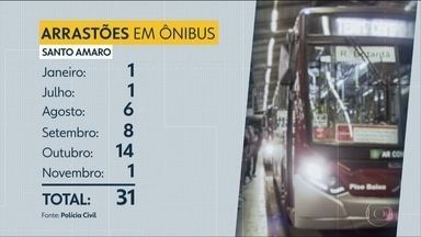 Estudantes revelam medo de andar até a estação de trem na Zona Sul - Polícia registra 31 roubos dentro de ônibus na região de Santo Amaro.
