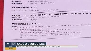 Por falta de urologista paciente de Florianópolis espera há quase 3 anos por consulta - Por falta de urologista paciente de Florianópolis espera há quase 3 anos por consulta
