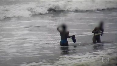 Prefeitura de Guaratuba (PR) investiga uso de câmeras para filmar mulheres - As câmeras de segurança da cidade foram usadas para flagrar mulheres de biquíni na praia. A prefeitura abriu uma sindicância para apurar quem foi o responsável pelas filmagens.