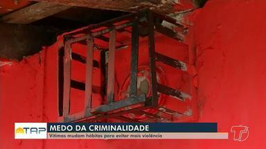 No Pará, medo da violência provoca mudança na rotina das pessoas - Em média, nove pessoas são assassinadas por dia no estado.