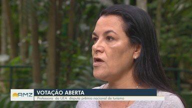 Professora da UEA é única finalista do Norte em prêmio nacional de Turismo - Esta é a primeira vez que um professor do Amazonas chega à final do concurso