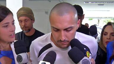 Justiça decreta prisão preventiva de Michel da Silva, homem suspeito de assassinar Rayane - Michel conheceu Rayane na Rodoviária de Guararema na mesma noite em que a jovem foi morta. Ele contou para a polícia que a matou depois de ter relações sexuais com ela.