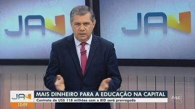 Câmara de Florianópolis aprova prorrogação de contrato entre BID e Prefeitura - Câmara de Florianópolis aprova prorrogação de contrato entre BID e Prefeitura