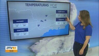 Confira a previsão do tempo para esta quarta-feira (28) no Sul de Minas - Confira a previsão do tempo para esta quarta-feira (28) no Sul de Minas