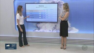 Confira a previsão do tempo para esta quarta-feira (28) em Ribeirão Preto, SP - Sol predomina e mantém clima abafado.