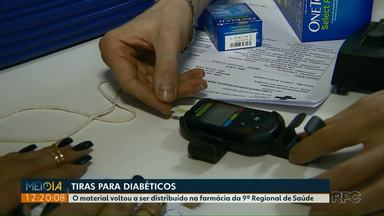 Nona Regional volta a distribuir tiras para diabéticos - A troca de laboratório suspendeu a entrega por mais de uma semana