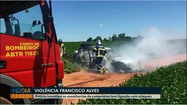 Violência continua amedrontando moradores de Francisco Alves - Casais foram assaltados perto da cidade