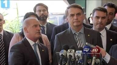 Jair Bolsonaro anuncia mais três ministros do futuro governo - O presidente eleito, Jair Bolsonaro, anunciou, nesta quarta (28), o nome de mais três ministros.