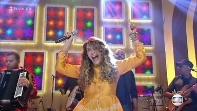 Elba Ramalho canta `Eu Só Quero Um Xodó´ - Música abre o Encontro desta quinta-feira