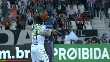Botafogo termina o Brasileirão contra o Galo com sentimento de dever cumprido - Botafogo termina o Brasileirão contra o Galo com sentimento de dever cumprido