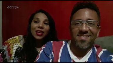 Lismara e Ray falam da participação no ´Quem Quer Ser Um Milionário´ - Lismara estava tão nervosa que não percebeu que o marido errou a resposta e comemorou.