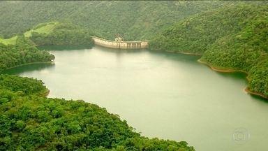 Período de chuvas começa com o nível de água mais alto nos reservatórios - Represa mais cheia significa energia mais barata.
