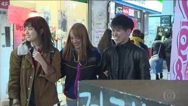 Descendentes de japoneses buscam vida melhor no Japão - Maioria está atrás de oportunidade de trabalho e segurança.