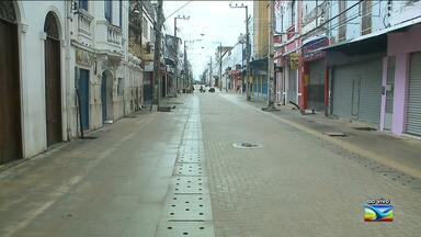 Aumenta expectativa de lojistas com festas de fim de ano em São Luís - Apesar da expectativa, na Rua Grande, considerado o maior centro comercial da capital, a movimentação de consumidores ainda é pequena.